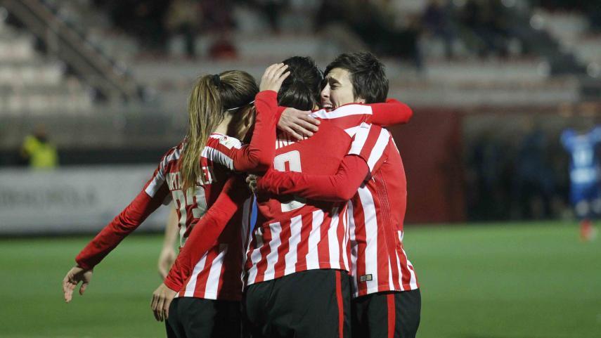 Erika Vázquez le da los tres puntos al Athletic