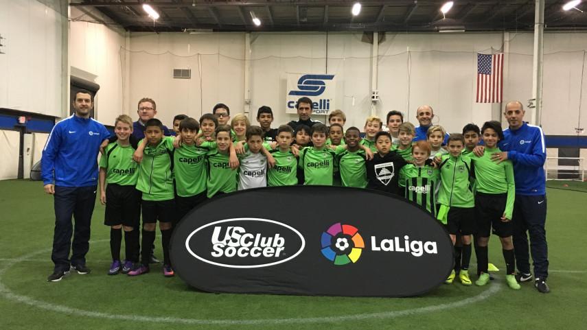 LaLiga y US Club Soccer han formado a más de 800 entrenadores en Estados Unidos