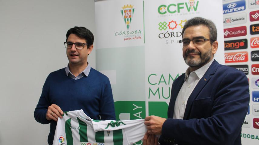 El Córdoba CF y el Ayuntamiento de la ciudad se unen para expandir su marca internacionalmente