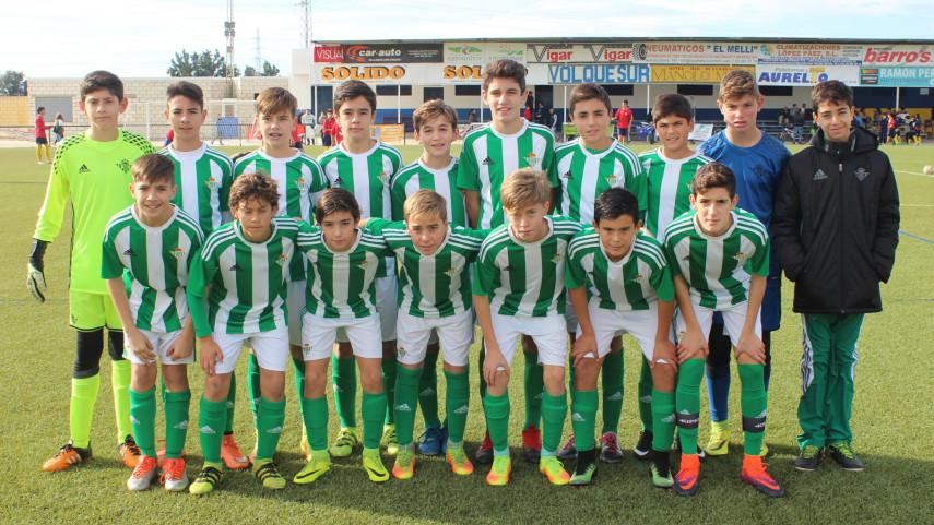 Mateo, infantil del Real Betis: