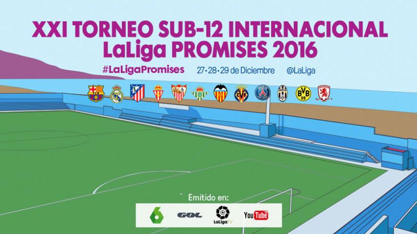 Todo a punto para el inicio de la XXI edición de  LaLiga Promises