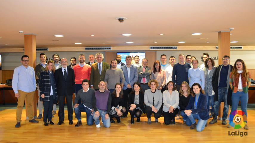 La Fundación de LaLiga clausuró el proyecto 'IMPULSA - Promoviendo un fútbol social'
