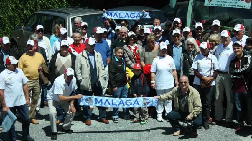 Los expatriados daneses, unidos por el Malaga CF