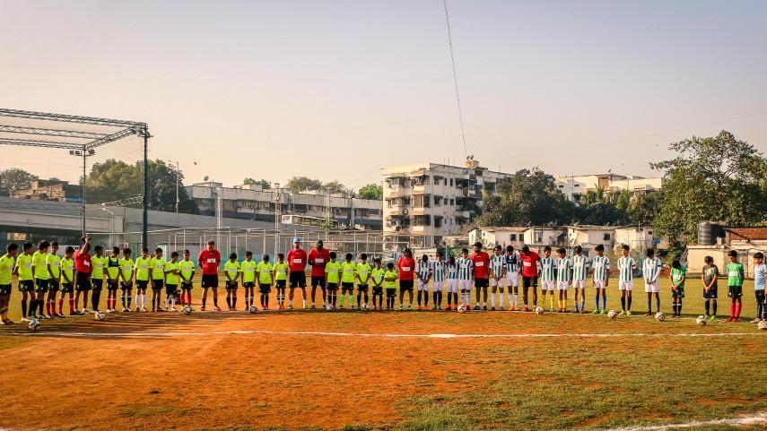El Córdoba CF organiza un campus de formación con niños en Bombay