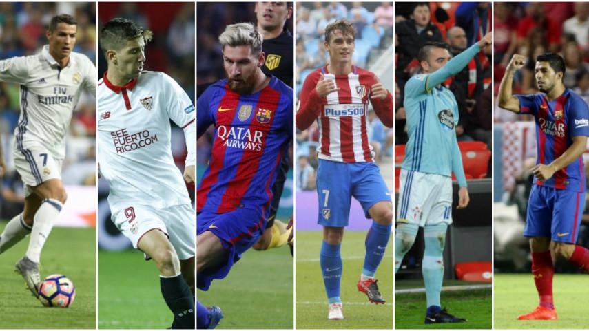 LaLiga Santander cierra 2016 como el campeonato más goleador de Europa