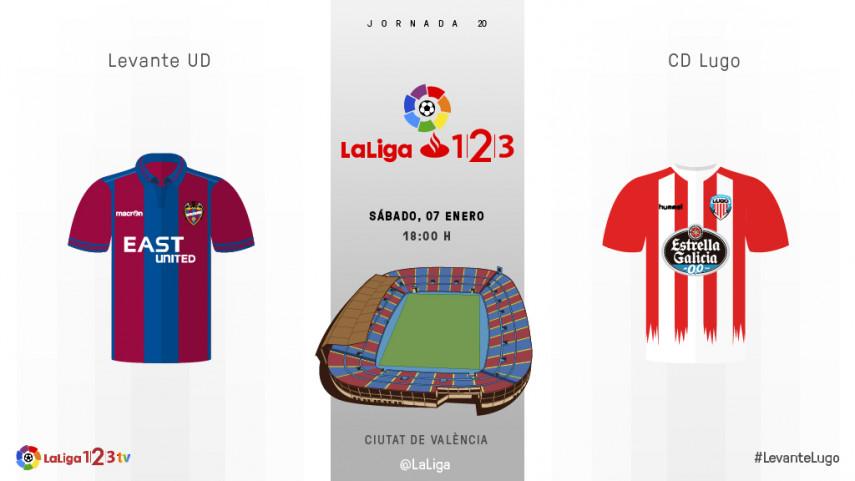 Levante y Lugo quieren mantener la solidez