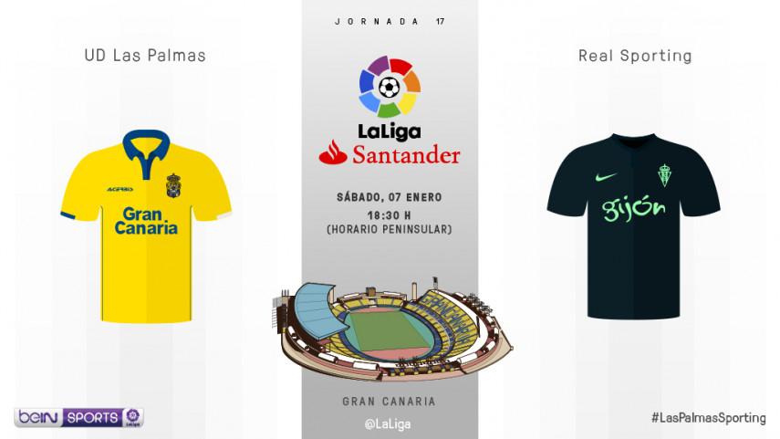 Las Palmas y Sporting, ante el reto de empezar bien el nuevo año