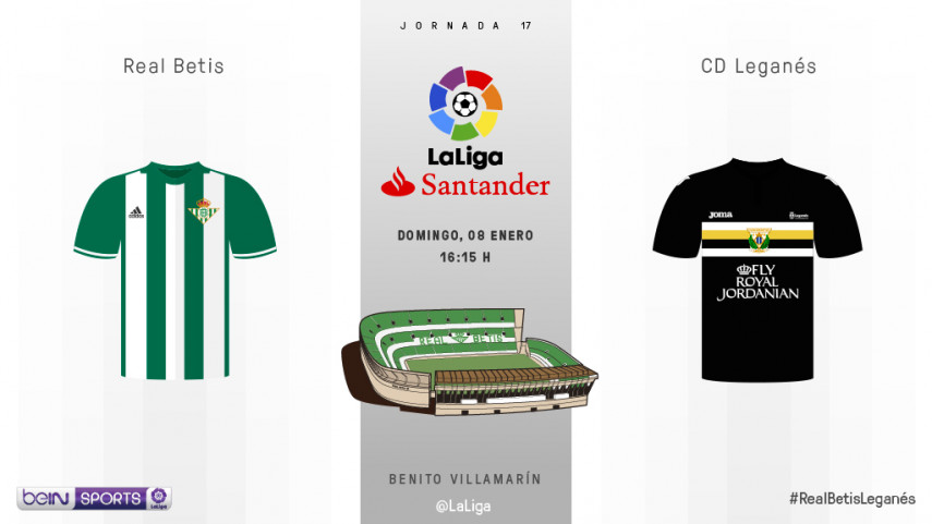 Betis - Leganés, primera vez en LaLiga Santander