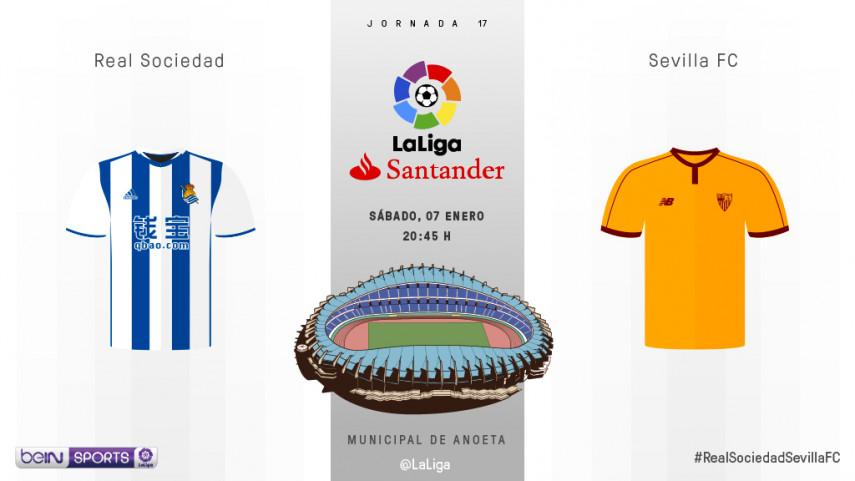 Real Sociedad y Sevilla quieren seguir soñando