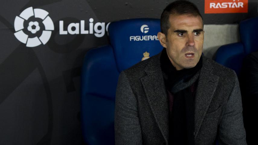 El Deportivo comunica la destitución de Gaizka Garitano