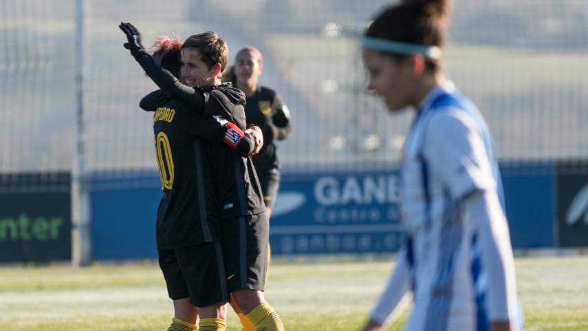La primera vuelta de la Liga Iberdrola termina con Sonia Bermúdez como máxima goleadora