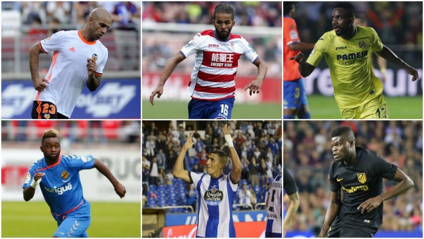 17 jugadores de LaLiga Santander y LaLiga 1 2 3 estarán en la Copa África 2017