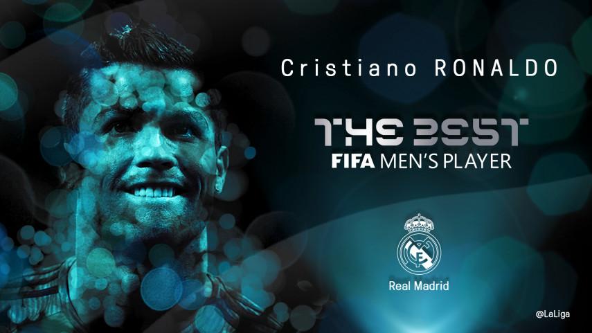 Cristiano Ronaldo gana el Premio The Best de la FIFA