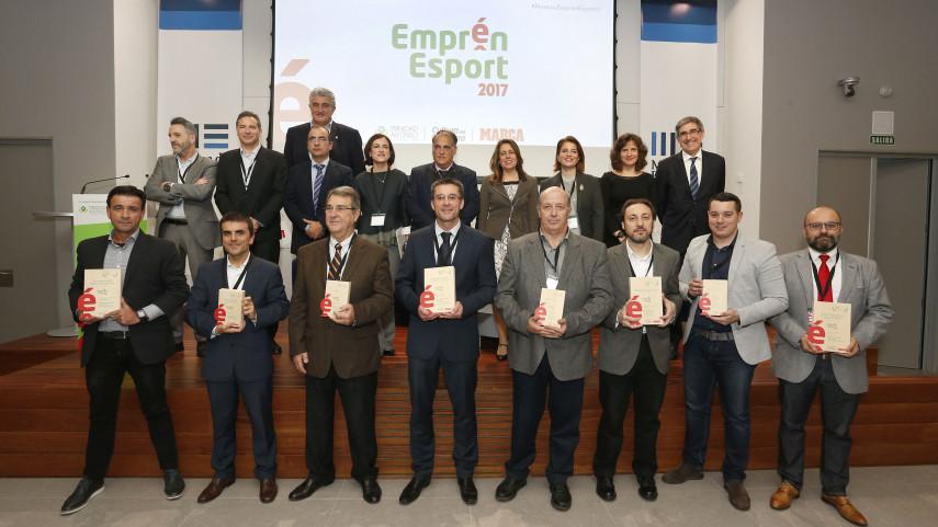 Javier Tebas apadrina la tercera edición de Emprén Esport
