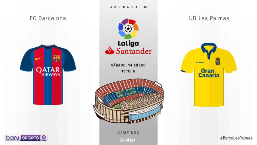 FC Barcelona - UD Las Palmas: el balón como protagonista