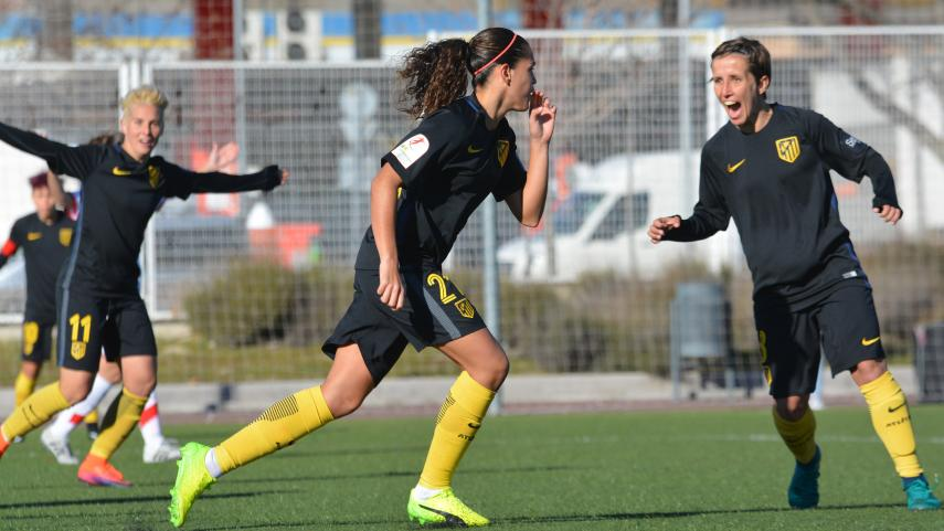 El At. Madrid Femenino, líder de la Liga Femenina Iberdrola una jornada más