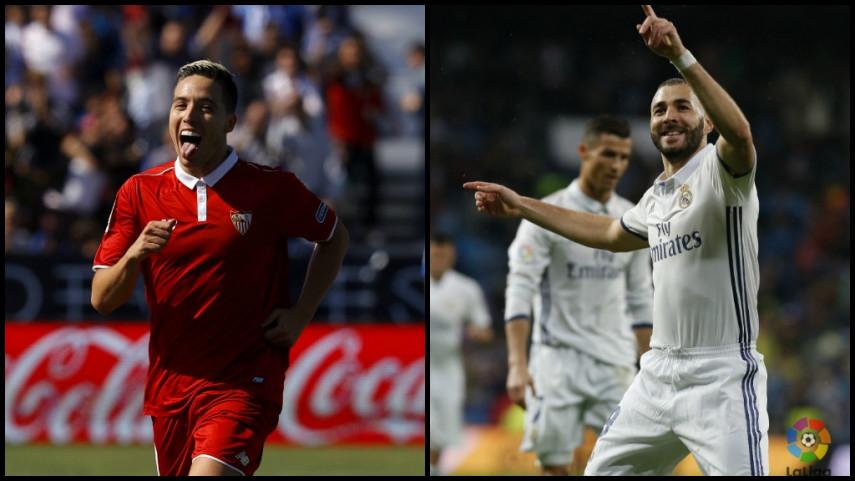 El Sevilla FC - Real Madrid habla francés