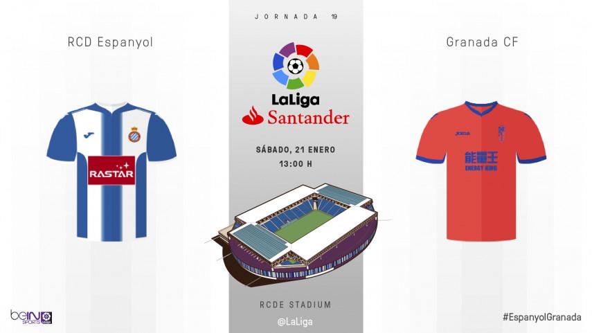 El Granada, a invertir la situación en el RCDE Stadium