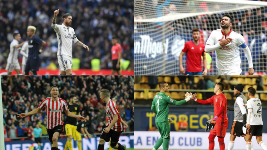 Los números de la jornada 19 de LaLiga Santander