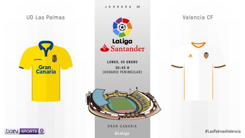 El Estadio de Gran Canaria examina la mejoría del Valencia