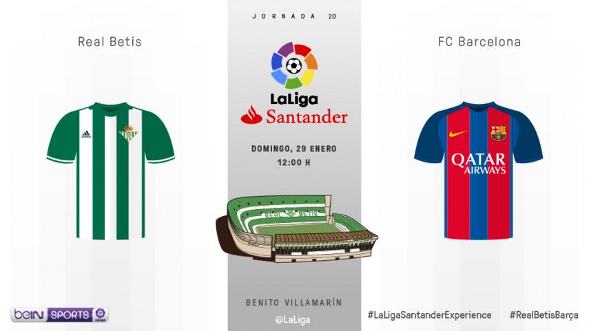 El Villamarín, nueva parada en el asalto al título del Barcelona