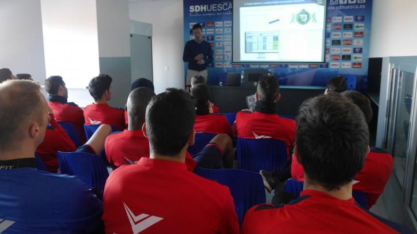Los talleres de integridad de LaLiga visitan a SD Huesca y R. Zaragoza