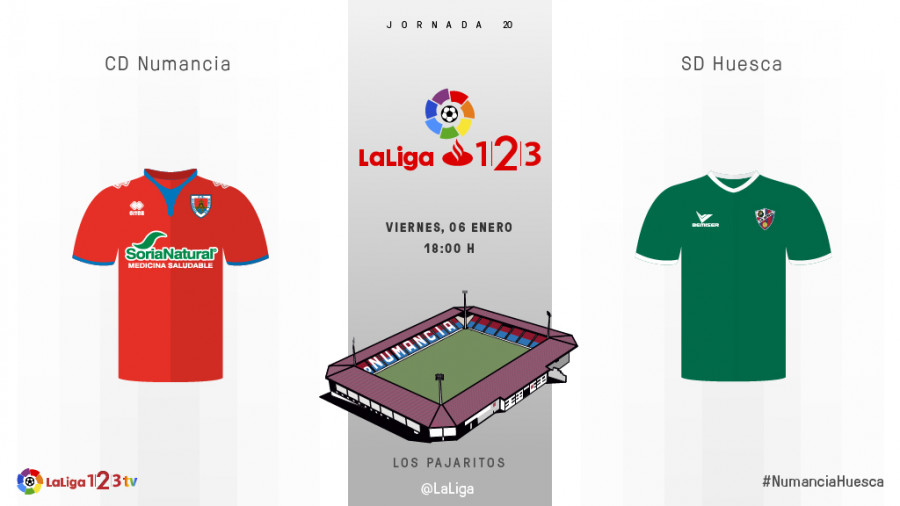 fece67d38 Previa del partido CD Numancia - SD Huesca - Los tres puntos como ...