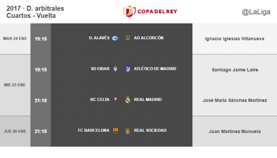 Copa Del Rey Cuartos De Final | Arbitros Para La Vuelta De Cuartos De Final De La Copa Del Rey