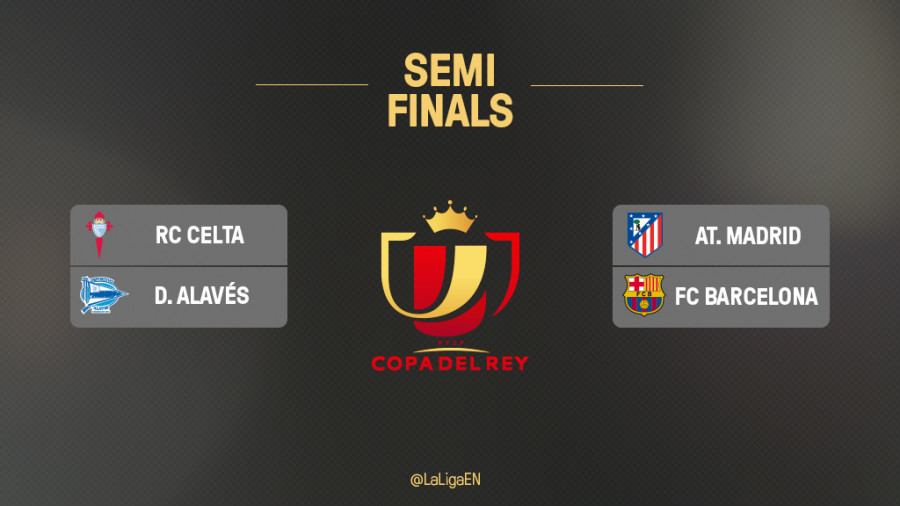 The Copa del Rey semi-final draw | News | Liga de Fútbol ...