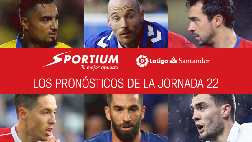 Las recomendaciones de Sportium para la jornada 22 de LaLiga Santander