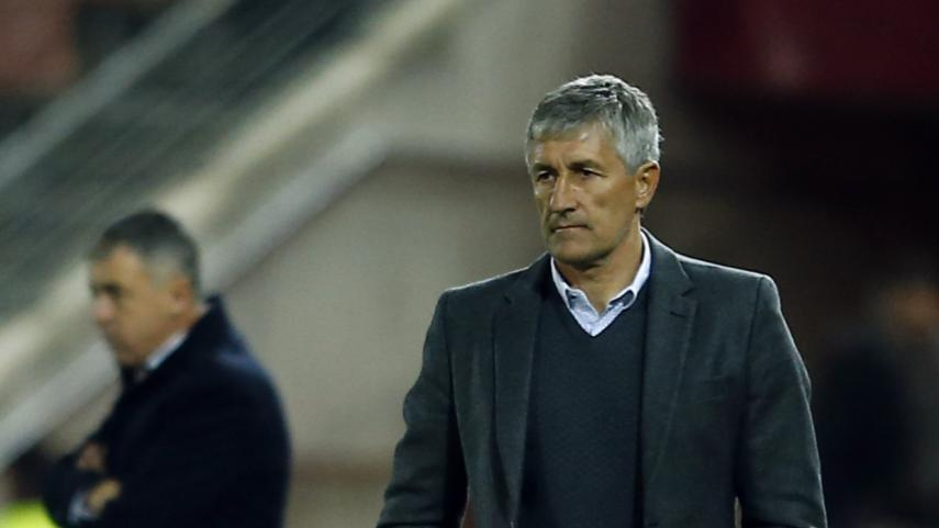 Quique Setién, nuevo entrenador del R. Betis