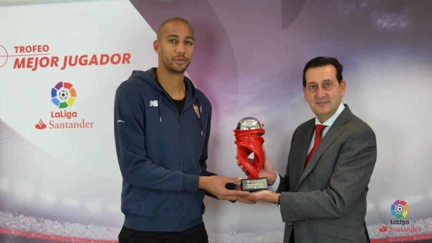 Steven N'Zonzi named LaLiga Santander Player of the Month for January