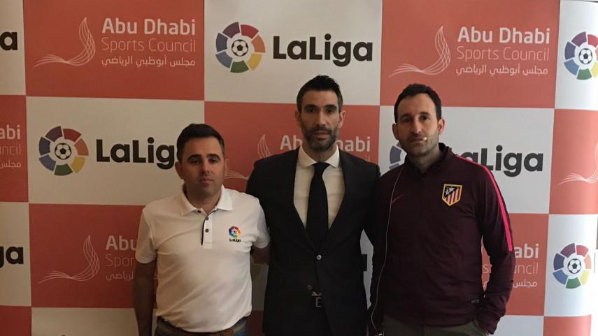LaLiga participa en unas jornadas en Abu Dhabi dirigidas al desarrollo del fútbol base