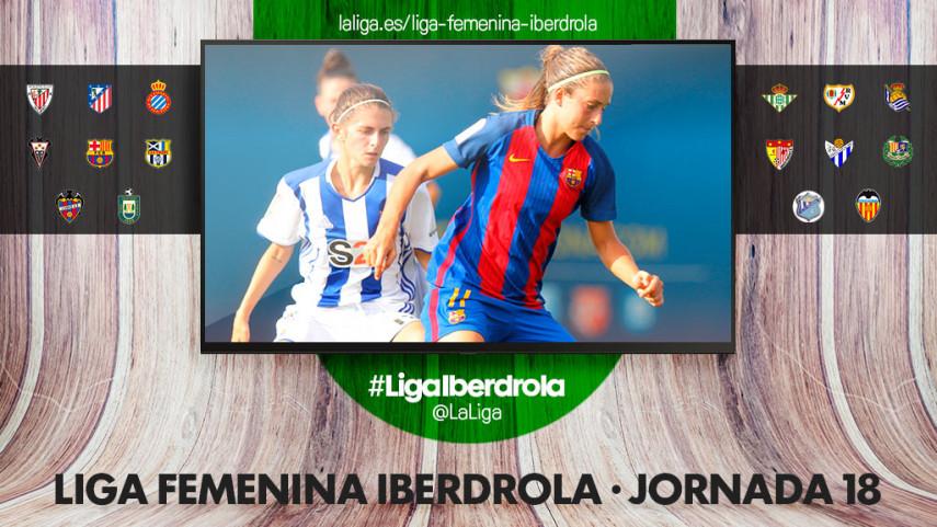 El Nuevo Colombino, protagonista de la jornada 18 de la Liga Femenina Iberdrola