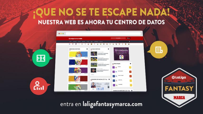 LaLiga Fantasy MARCA estrena su nuevo portal web de noticias