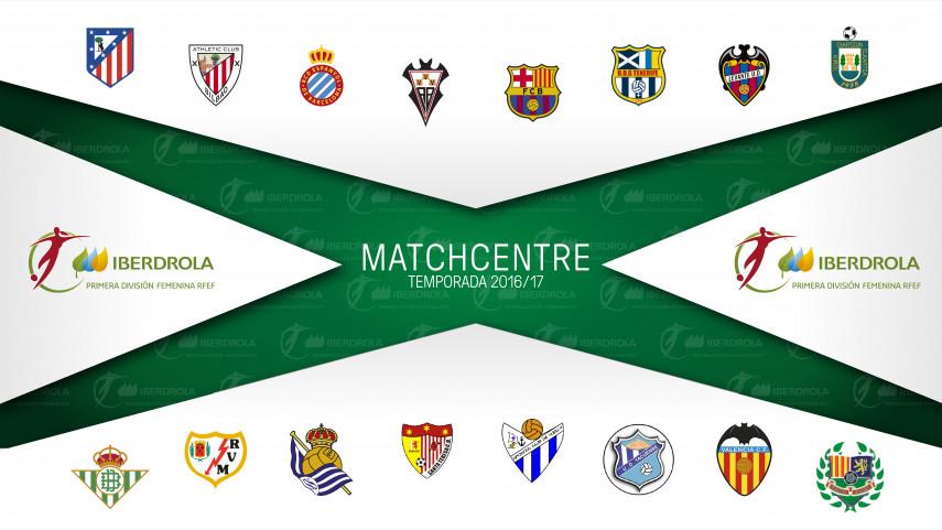 LaLiga estrena el Match Centre de la Liga Femenina Iberdrola
