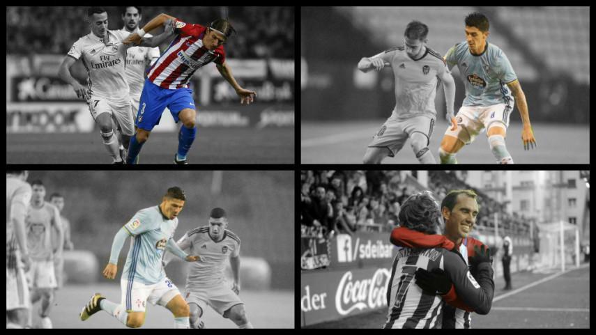 Ámerica del Sur, protagonista del Atlético de Madrid - Celta