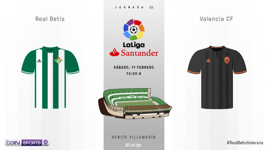 Betis y Valencia, en busca de su mejor versión