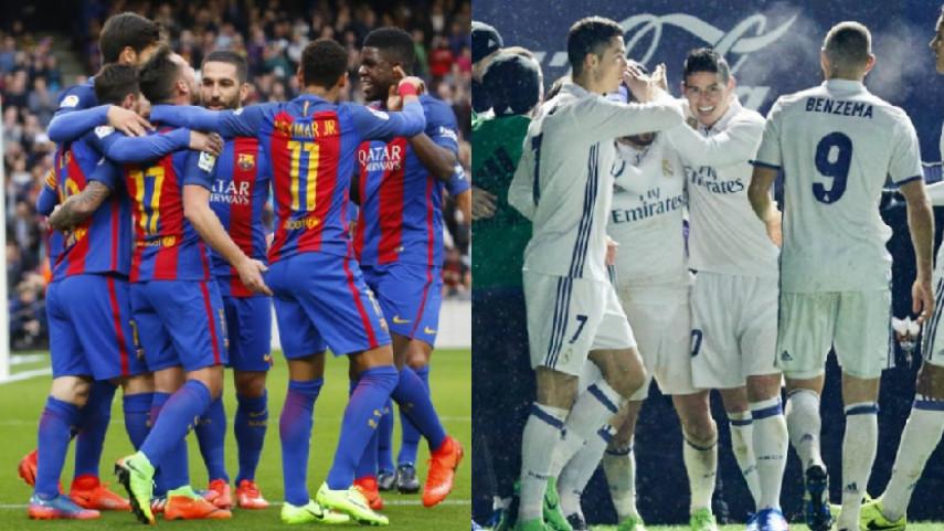 FC Barcelona y Real Madrid abren el camino en octavos de Champions League