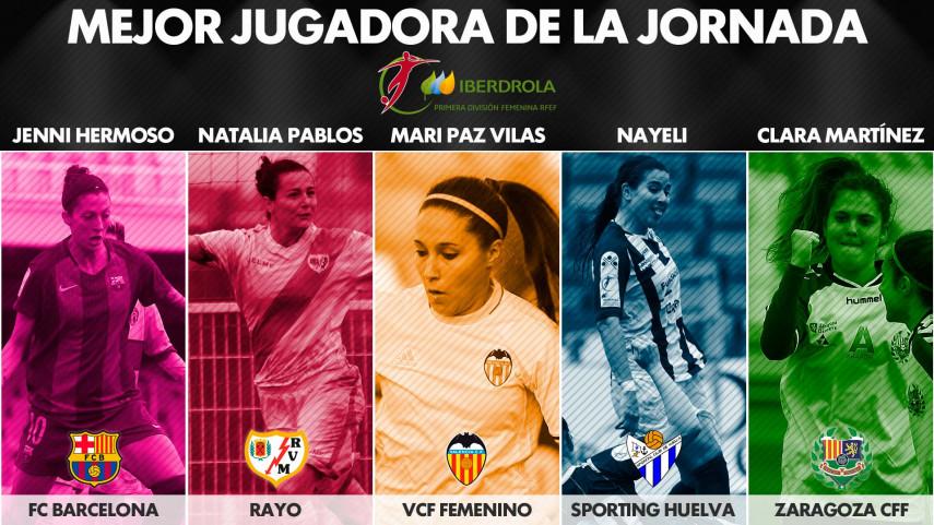¿Quién fue la mejor jugadora de la jornada 18 de la Liga Femenina Iberdrola?