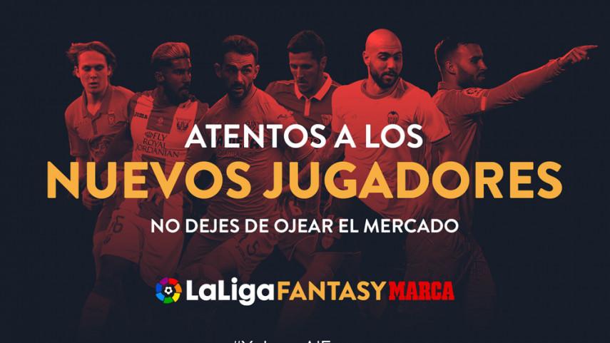 Los nuevos fichajes de LaLiga Santander ya están en LaLiga Fantasy Marca