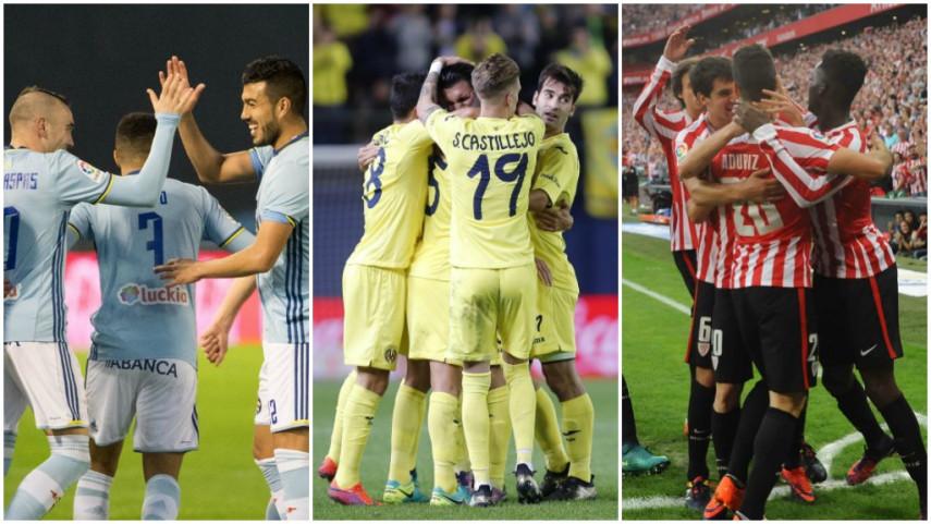 Celta, Villarreal y Athletic prosiguen su camino hacia el título de la Europa League