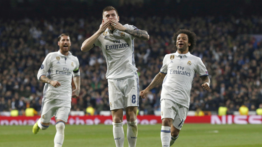 Champions League roundup: Real Madrid seal comeback win over Napoli