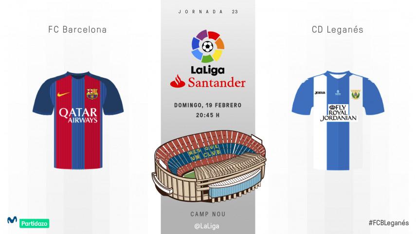 FC Barcelona - CD Leganés, duelo inédito en el Camp Nou