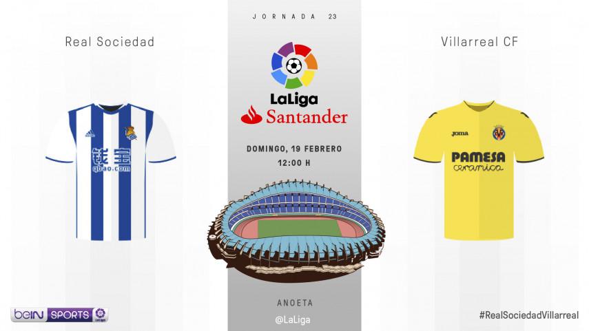El Villarreal quiere romper el hechizo de Anoeta