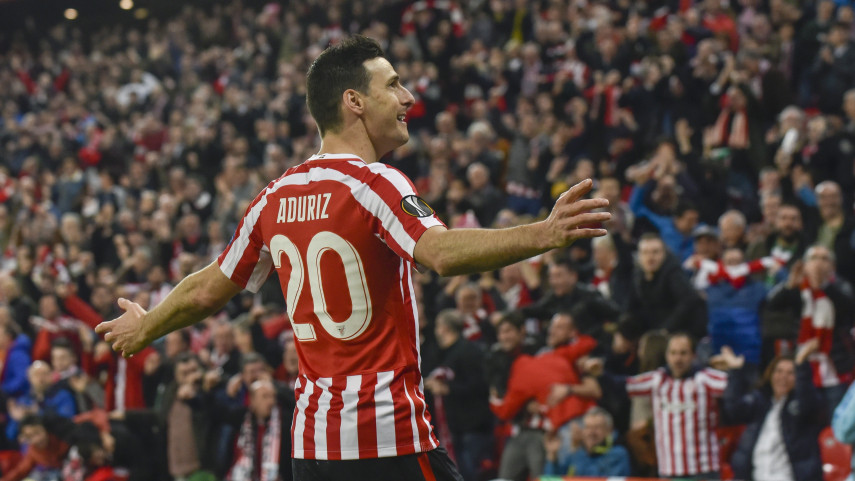 El Athletic, único vencedor en la ida de dieciseisavos de la Europa League
