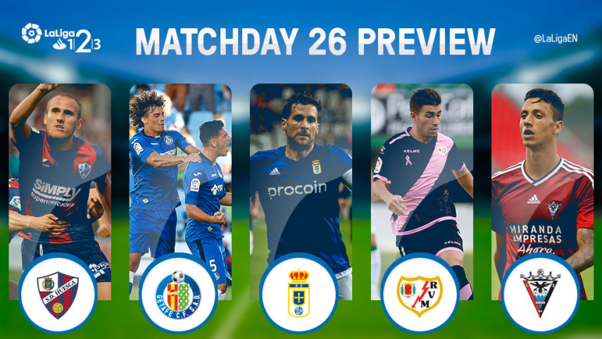 Promotion hopefuls Oviedo and Getafe clash at the Carlos Tartiere