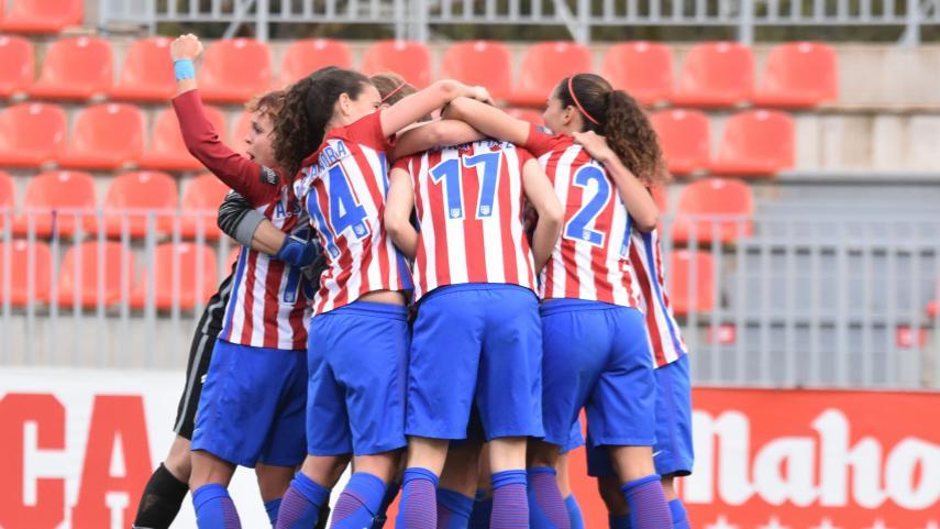 El At. Madrid Femenino no baja el ritmo en la Liga Femenina Iberdrola