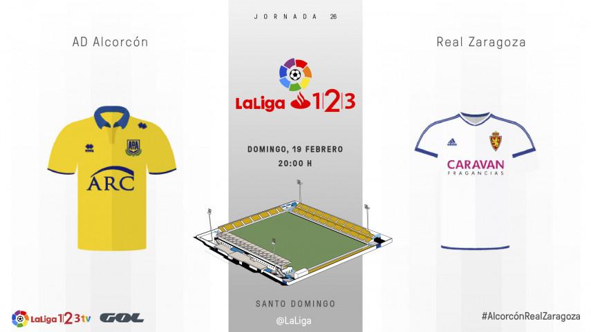 Alcorcón y Zaragoza no quieren dejar pasar más tiempo