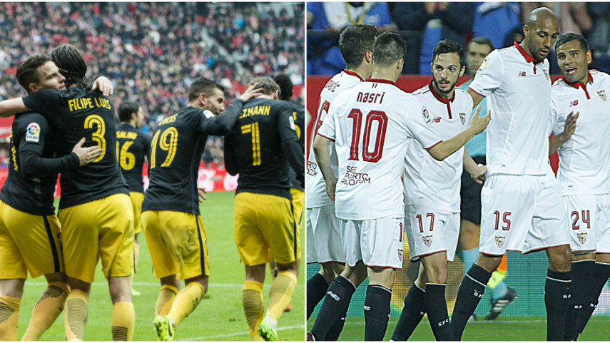 Atlético y Sevilla buscan acercarse a cuartos en la Champions League